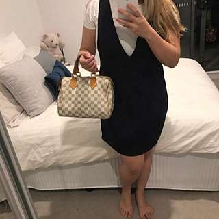Louis Vuitton LV Speedy 25 Damier Azur