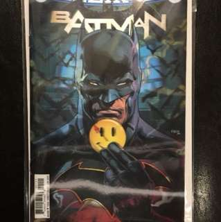 BATMAN & FLASH #21 & #22 LENTICULAR VARIANT SET