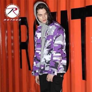🚚 Tothco 紫迷彩襯衫