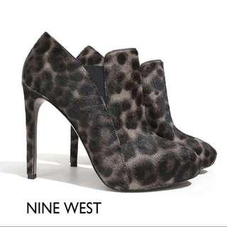 🚚 【N17053】Nine West 豹紋踝靴