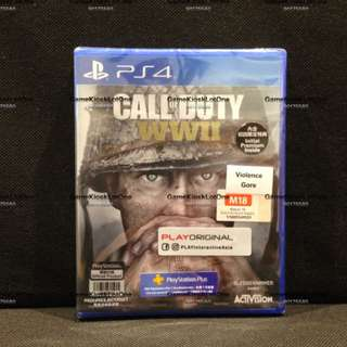 Restock PS4 Game: Call Of Duty WWII (RALL)