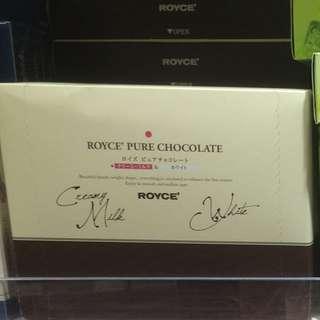 純朱古力禮盒 日本Royce