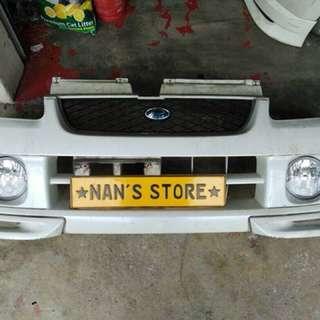 Japan Subaru pleo front bumper