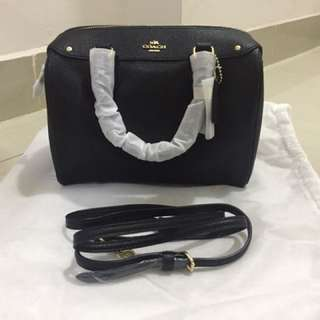 Coach Mini Bennett Satchel Black