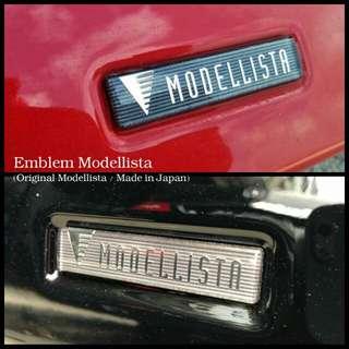 Emblem Modellista