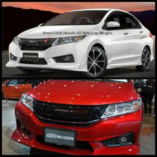 Front Grille Honda All New City Mugen
