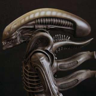 嘩~又嚟酬賓週 Alien 異形 1/4 超巨大 约22寸 CAST件(未上色白件)