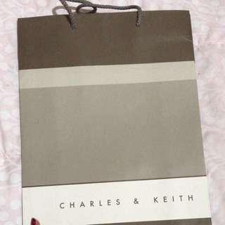 Paperbag charles & keith