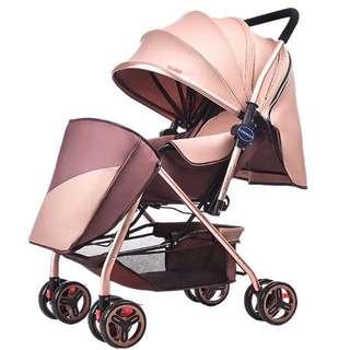 💯2017Brand New German design Light weight baby stroller/pram/new version/promotion