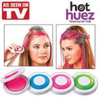 Seen on TV Hot Huez Temporary Hair Dye Kit