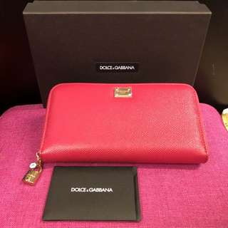 New Dolce & Gabbana long wallet with box
