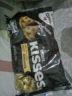 Hersheys Kisses Almonds and Cookies and Cream