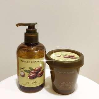 💥Sale! Nature Republic Hair Care Value Set