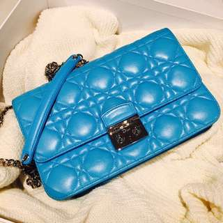 Dior - Miss Dior Pouch Flap Bag (Blue) $ Negotiable