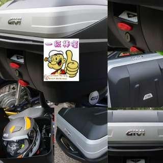 0401--- GIVI BOX B32 BOLD new model 😆😆😆 (YAMAHA SPARK,JUPITER, HONDA, SUZUKI)