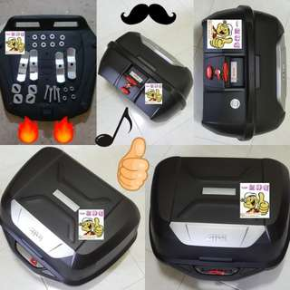 0401---GIVI BOX E43 NTL Mulebox For Sale !!!Brand New (YAMAHA, Honda, SUZUKI, ETC)