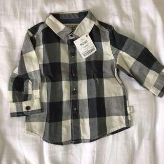 Baby boy checkered shirt By next uk