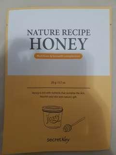 Secret Key Nature Recipe Honey