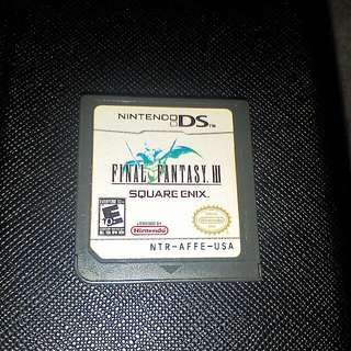 Nintendo ds Final Fantasy