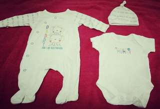 Mothercare Mummy & Daddy set of 3