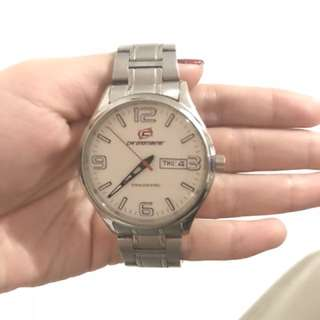 Jam Tangan Pria Analog merk Chronomaster tipe CM1034ME
