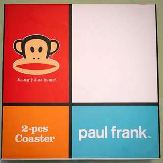 Paul Frank 杯墊 Coasters X2 (Real And New)