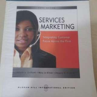 Service Marketing - Integrating Customer Focus Across the Firm