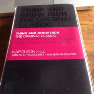 Think and grow rich the original classic - napoleon hill (hard cover)