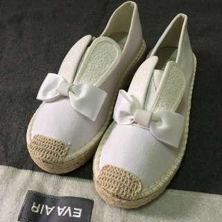 🚚 兔耳蝴蝶結懶人鞋