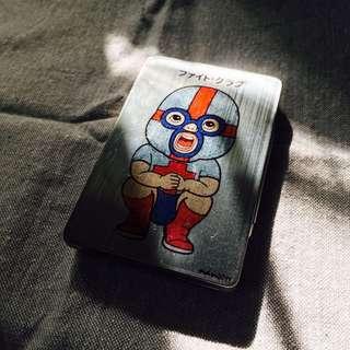 🚚 摔角選手名片盒/煙盒 #好想找到對的人