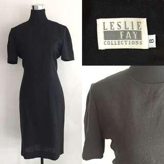 Leslie Faye Gray Dress