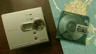 Sony MiniDisc Walkman Collectable
