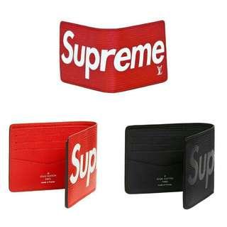 Supreme / Louis Vuitton PF Slender Wallet -