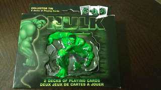 The Incredible Hulk 2 Deck Collector Tin