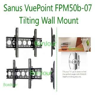 Sanus Vuepoint Tilting Wall Mount Brackets For Flat Led/Lcd TV Panels Sellzabo