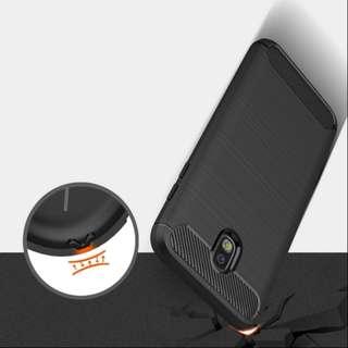 OPPO R11S手機殼拉絲碳纖維簡約全包防摔矽膠保護殼防護盔甲全包邊防摔保護套四邊全包