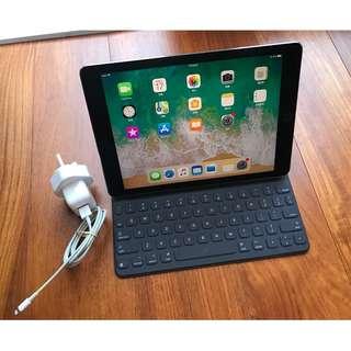 """iPad Pro 128GB wifi 4G LTE 9.7"""" space grey 太空灰 連apple keyboard"""