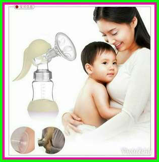 🔥HOT HOT🔥 180ml Silicone Manual Hand-type BPA Free Breast baby Pump bottle baby mum milk warmer child🔥