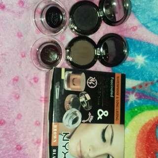NYX eyebrow&Eyeliner BlacknBrown