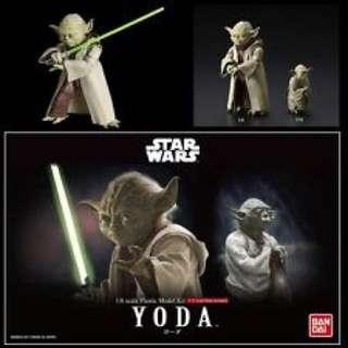 Bandai Star Wars Yoda 1/6 Model kit 尤達大師