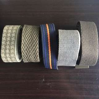 Belts for men. Casual
