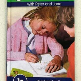 Key words with Peter and Jane 1a-3b