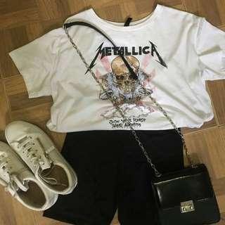h&m tee / t shirts / shirts METALICA
