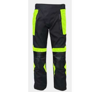 Motorbike / Men - Neon Reflective Riding Pants MB1091