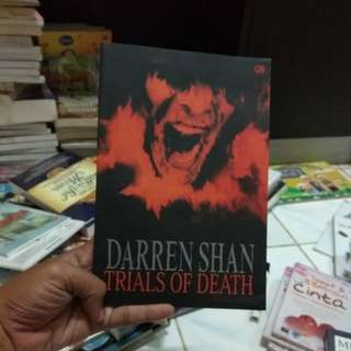 novel trials of death by darren shan
