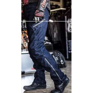 Motorbike - Men Loose Fit Riding Jeans / Pants (with paddings/guards) MB1073