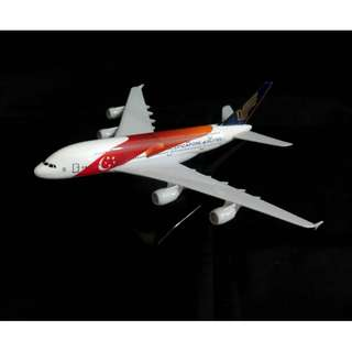 Singapore Airlines SG50 Airbus 380  / Model Aeroplane / Airplane / Diecast model