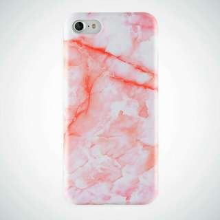GLOSSY MARBLE IMD CASE for iPhone 5, 5s, SE, 6, 6+, 7, 8, x