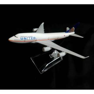 United Airlines Boeing 747 / Model Aeroplane / Airplane / Diecast model