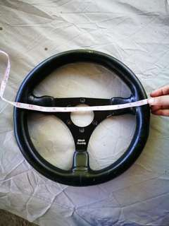 Original Black Racing Steering Wheel